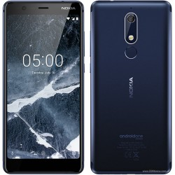 Nokia 5.1 16gb Ram 2gb dual sim tempered blue