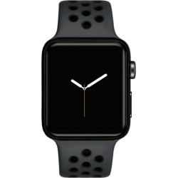 Apple Watch Nike+ GPS + Cell 42mm Space Grey Alu Case