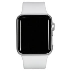 Apple Watch Series 3 GPS Cell 42mm Silver Alu White Band