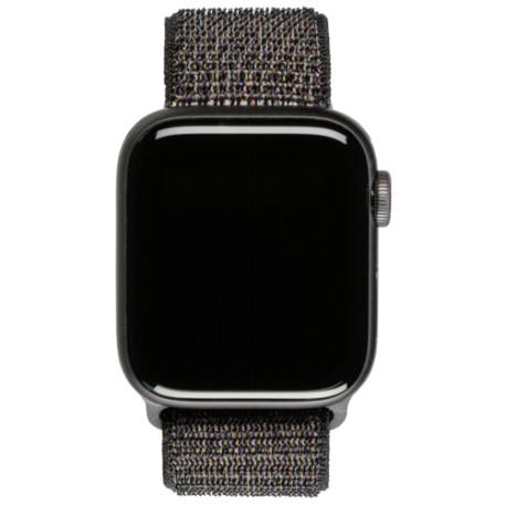 Apple Watch Series 4 GPS Cell 40mm Grey Alu Black Loop