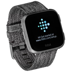 Fitbit Versa Special Edition dark grey /graphit