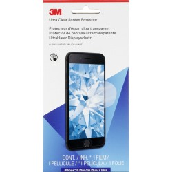 3M UCPAP004 Screen Protector Ultra Clear iPhone 6 + 7 Plus