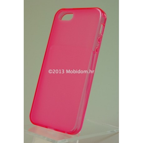 TORBICA +CLASS TPU P ZA APPLE IPHONE 5 DESIGN ROZA