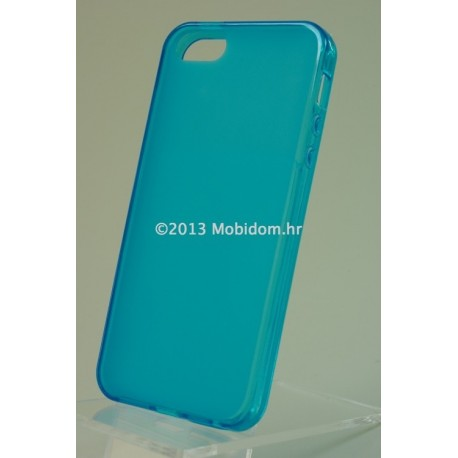TORBICA +CLASS TPU P ZA APPLE IPHONE 5 DESIGN PLAVA