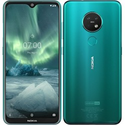 Nokia 7.2 128gb Ram 6gb dual sim cyan green