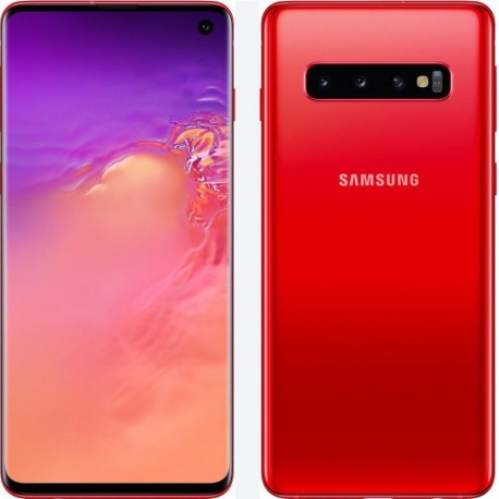 Samsung Galaxy S10 128gb Ram 8gb dual sim red