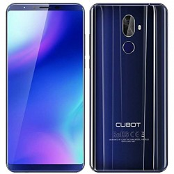 Cubot X18 Plus 64gb Ram 4gb dual sim blue