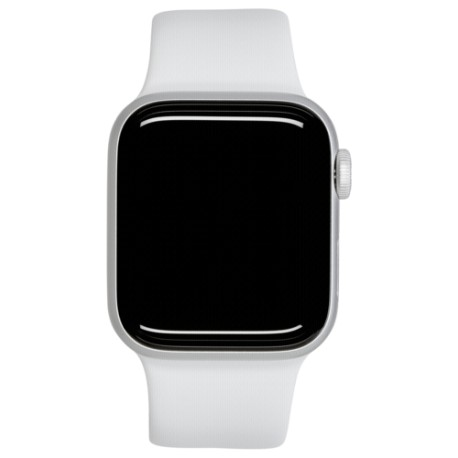 Apple Watch Series 5 GPS 44mm Silver Alu Case White Sport Band