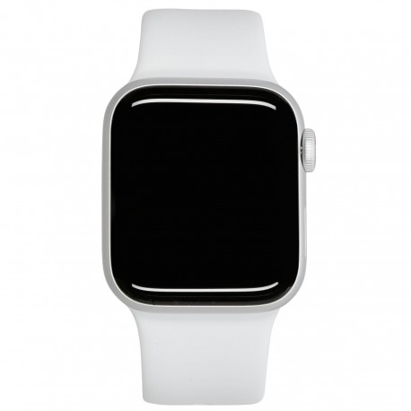 Apple Watch SE GPS + Cell 44mm Silver Alu White Sport Band